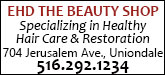 Ehd the Beauty Shop Inc Sponsorship Banner